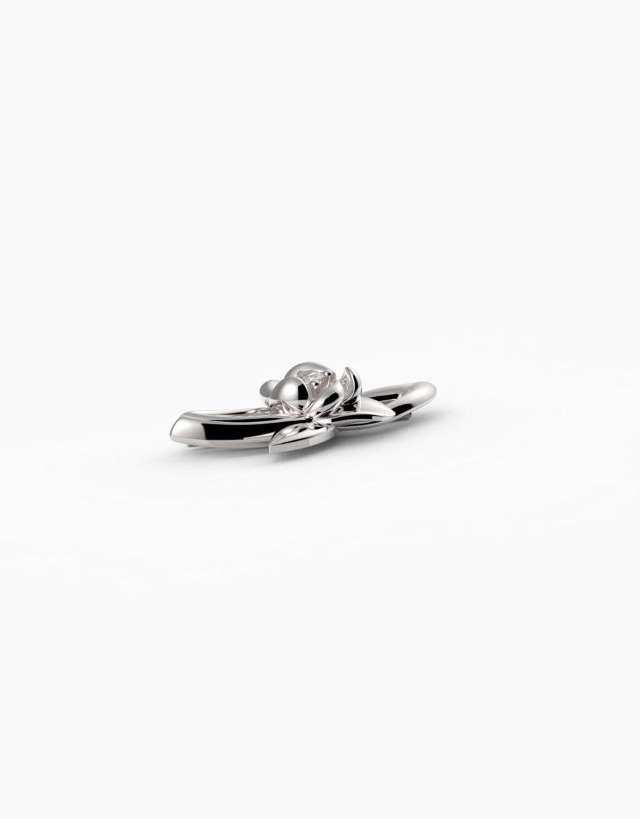 fiore Brooch Silver