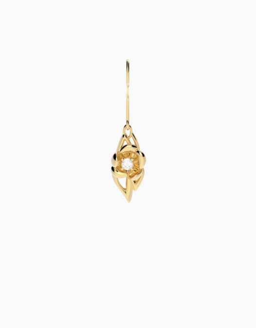 fiore Earrings Gold Plated