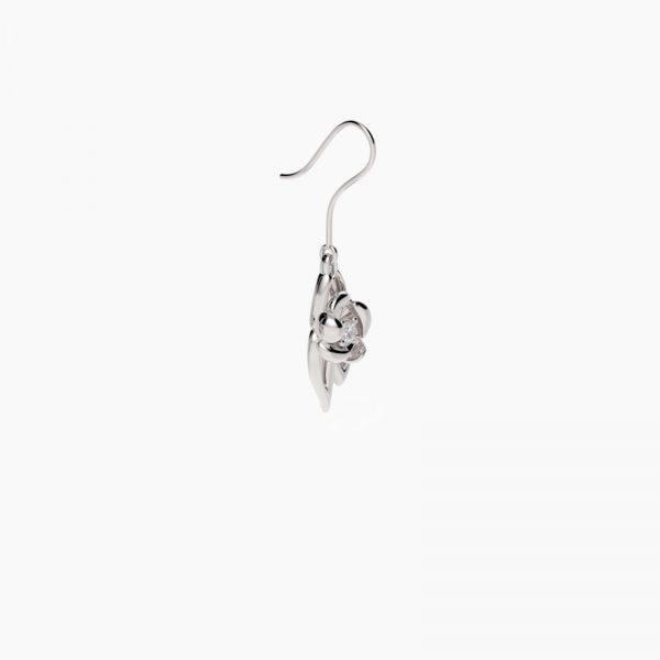 fiore Ohrringe Silber