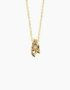 fiore Necklace Gold Plated