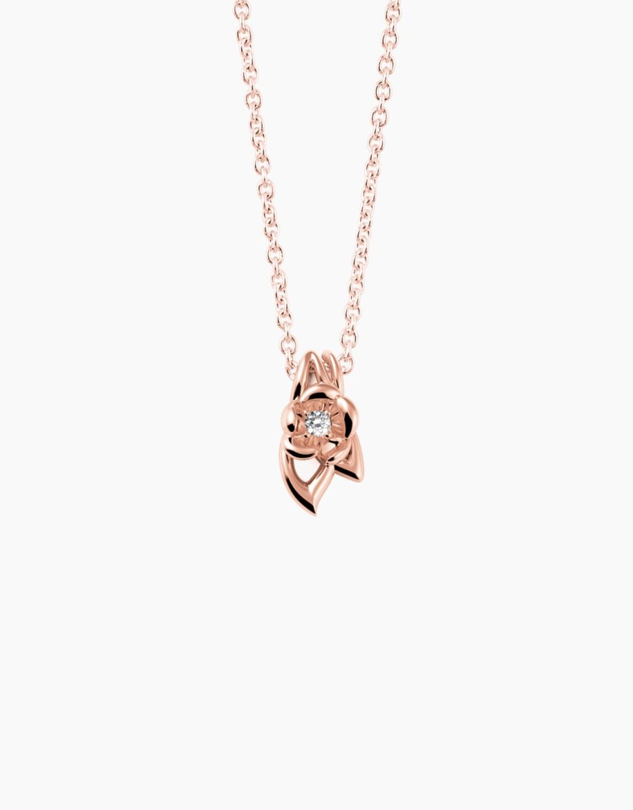 fiore Necklace Rosé Gold Plated