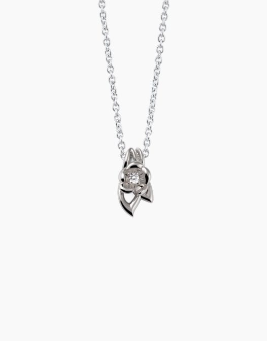 fiore Necklace Silver