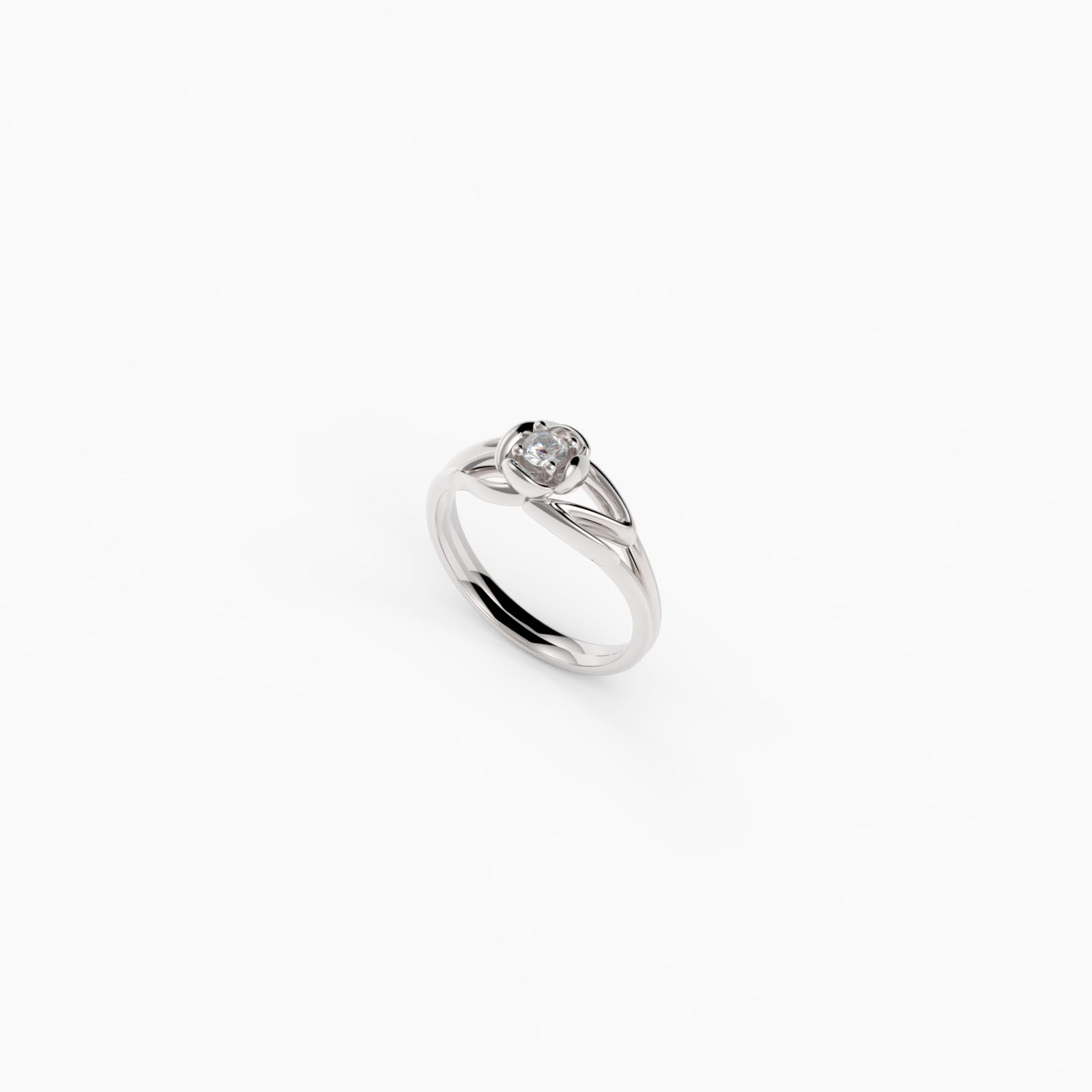 fiore Ring Silber