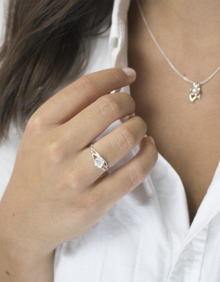 fiore Ring Silver