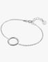 Silver Bracelet With Ring