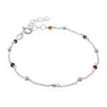 Silber Armband Mit Kristallen